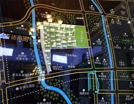 城发绿园区位图