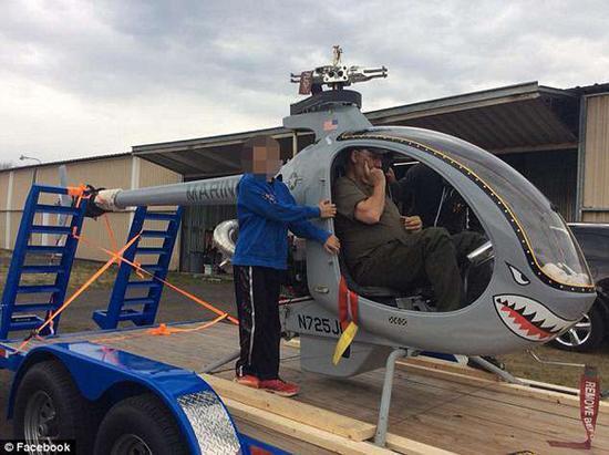 须眉中大奖后死里逃生驾驶私人直升机不测坠机