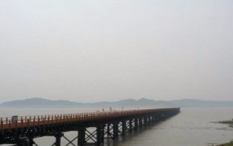 喜讯!228国道玉环段漩门湾特大桥右幅架梁顺利贯通