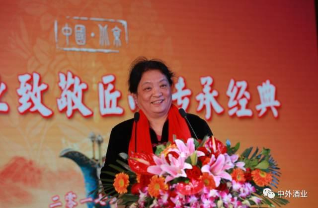 中国食品科学技术学会理事长孟素荷