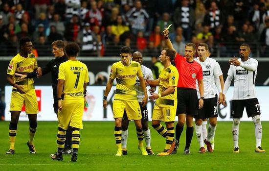 德甲-沙欣菲利普破门 多特2-0被扳平2-2法兰克福