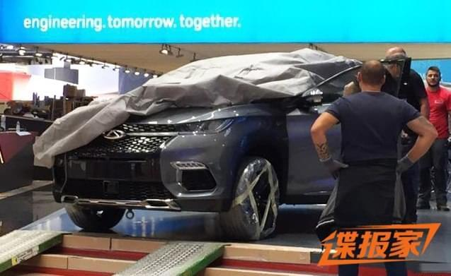 2017法兰克福车展探馆:奇瑞SUV M31T