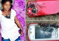 印度一女子边充电边打电话时手机爆炸 被炸死