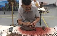 泰州21位民间工艺美术创作者拼才艺