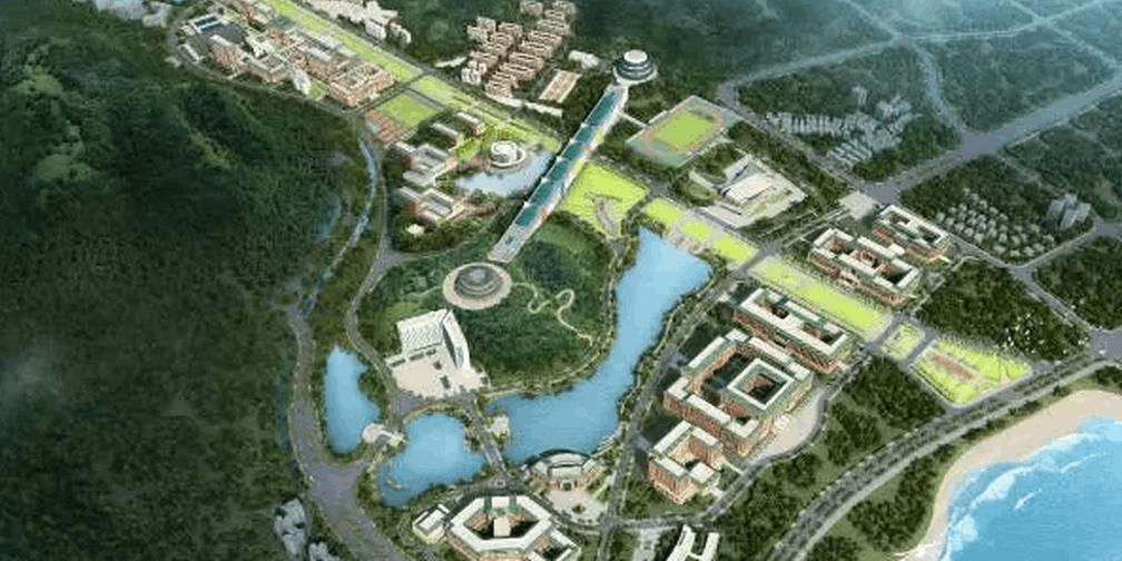 有山有海美炸了!中大深圳珠海校区最新规划曝光