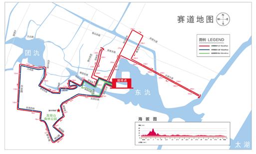 """""""一山傍两氿""""2018宜兴国际马拉松将于4月15日开跑"""