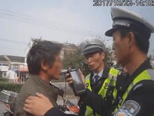 """靖江""""酒鬼""""司机一年内三次酒驾被查处"""