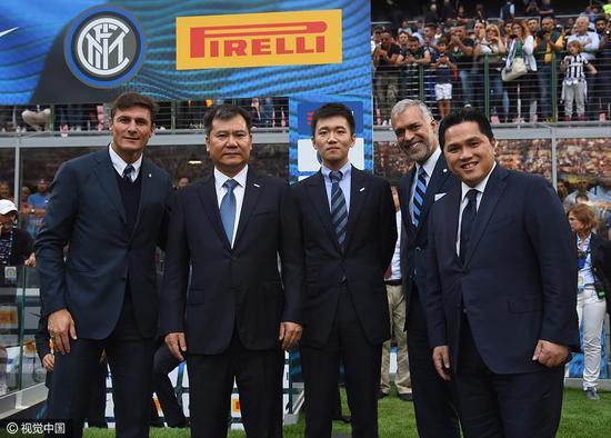 常驻米兰的张康阳已经被外界认为是国米的新主席。