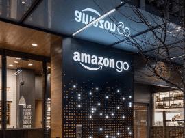亚马逊的自动便利店,一次最多接纳20个人类