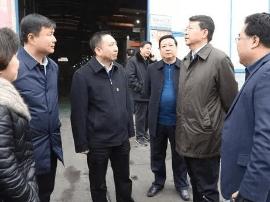 山西省政协副主席张璞在临猗县调研