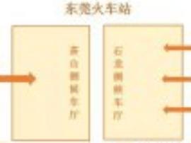 东莞火车站临时叫停双向进入 往深圳方向需2次安检