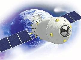 中国首艘货运飞船天舟一号成功发射
