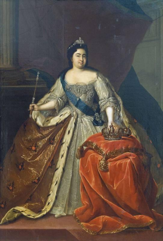 巨人脚下 目不识丁的洗衣妇,被谁推上沙皇宝座图片