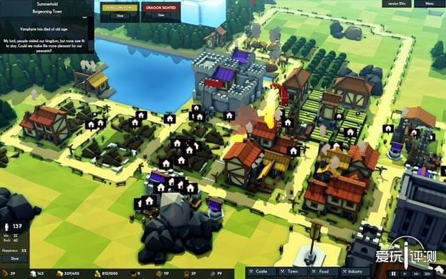 麻雀虽小五脏俱全的经营建造 《王国与城堡》评测