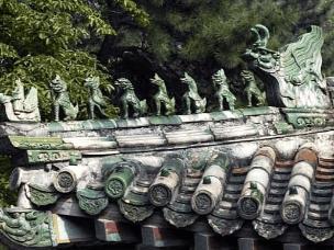 历史知识:中国古建筑屋脊上神兽的寓意