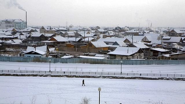 揭秘世界极寒之地:俄小镇奥伊米亚