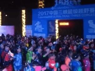 """百城多国500勇士""""自虐""""中国三峡168超级越野赛"""