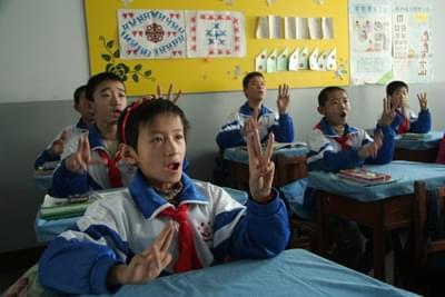 中国为残疾学生制定系统学习标准 涉及42门学科