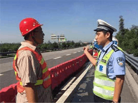 滨莱高速淄博西枢纽立交匝道封闭施工45天