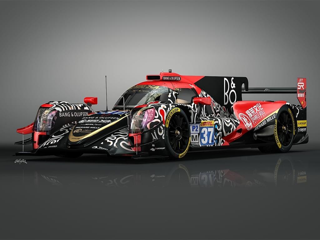 耀莱成龙DC Racing车队2017赛季赛车亮相