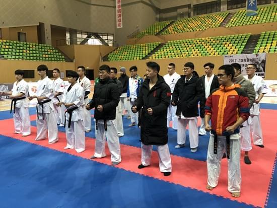 中国全接触空手道精英挑战赛在贵州都匀开赛