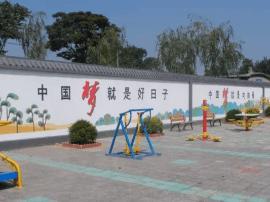 乐亭毛庄镇以干净整洁的农村环境迎庆十九大