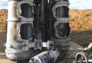 俄军导弹发射失败现场