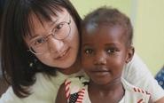 靖江90后女孩远赴埃及支教难民