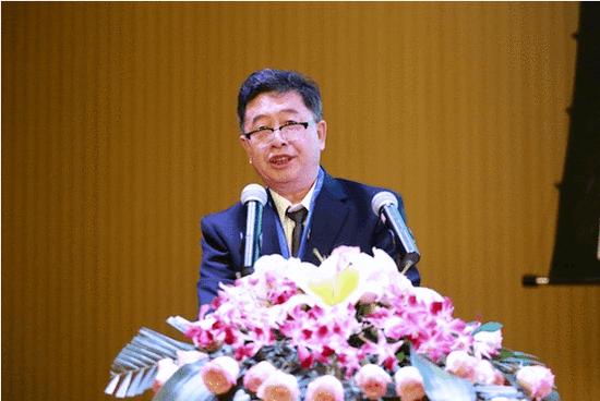 中国出版集团现代教育出版社社长兼党委书记、三亚学院国艺研究院院长宋一夫致辞