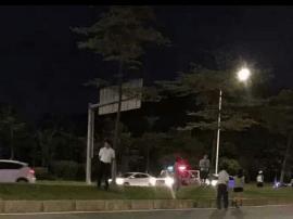 昨夜长安莲湖路出人命,一男子被撞当场死亡!