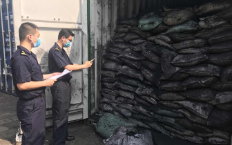 """福州海关打击""""洋垃圾""""走私 涉案废弃物2.6万吨"""