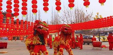 新春佳节 各地民众红红火火过大年