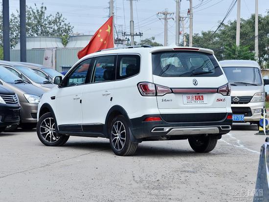 换涡轮增压发动机 风行SX6新增车型上市