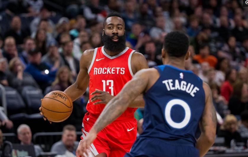 NBA-森林狼爆冷淘汰火箭?博彩公司的答案亮了