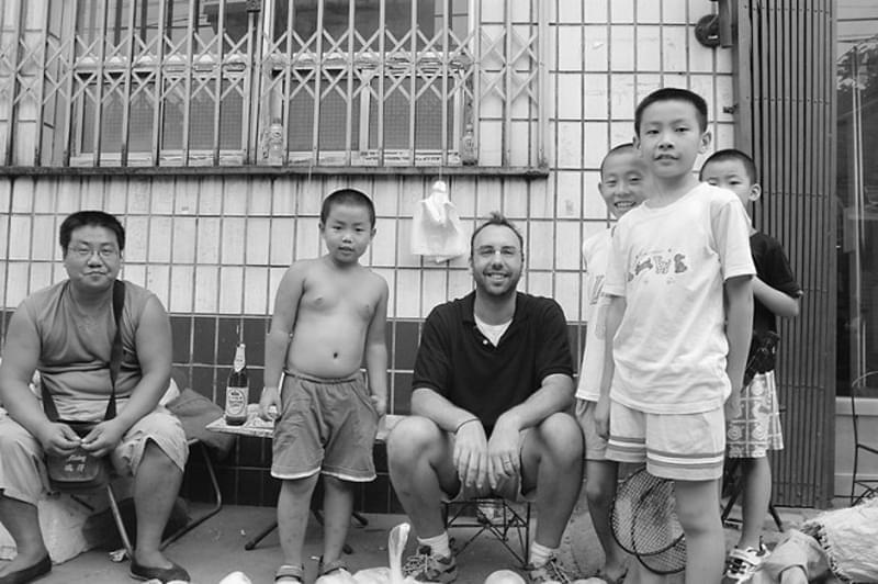 迈克尔·麦尔和他在北京的朋友