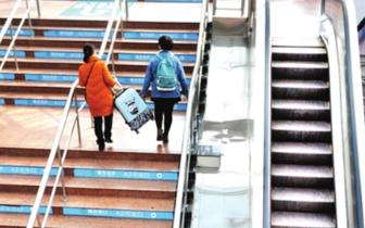 火车站南广场电梯泡水损坏 维修费没人出