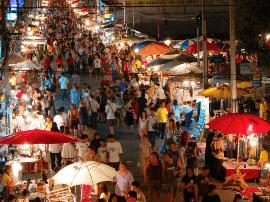 泰国清迈小城古老而独特,各大街巷耐人寻味