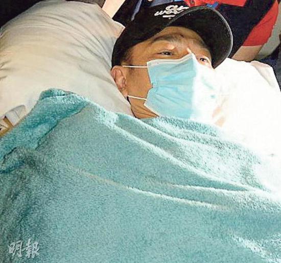 刘德华心急出院 吃了止痛药也痛到不能入睡