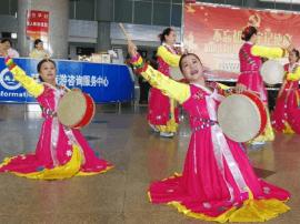 延边朝阳川国际机场旅客输送量已达15万人次