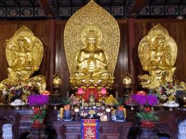五台山圭峰寺隆重举行诸佛菩萨圣像开光法会