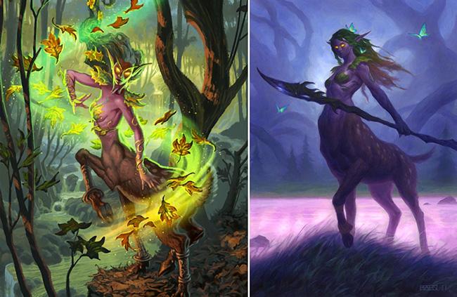 """露娜拉的转型故事:从魔兽""""小鹿""""到炉石德鲁伊"""