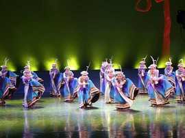 第二届全国少数民族舞蹈展演圆满落幕