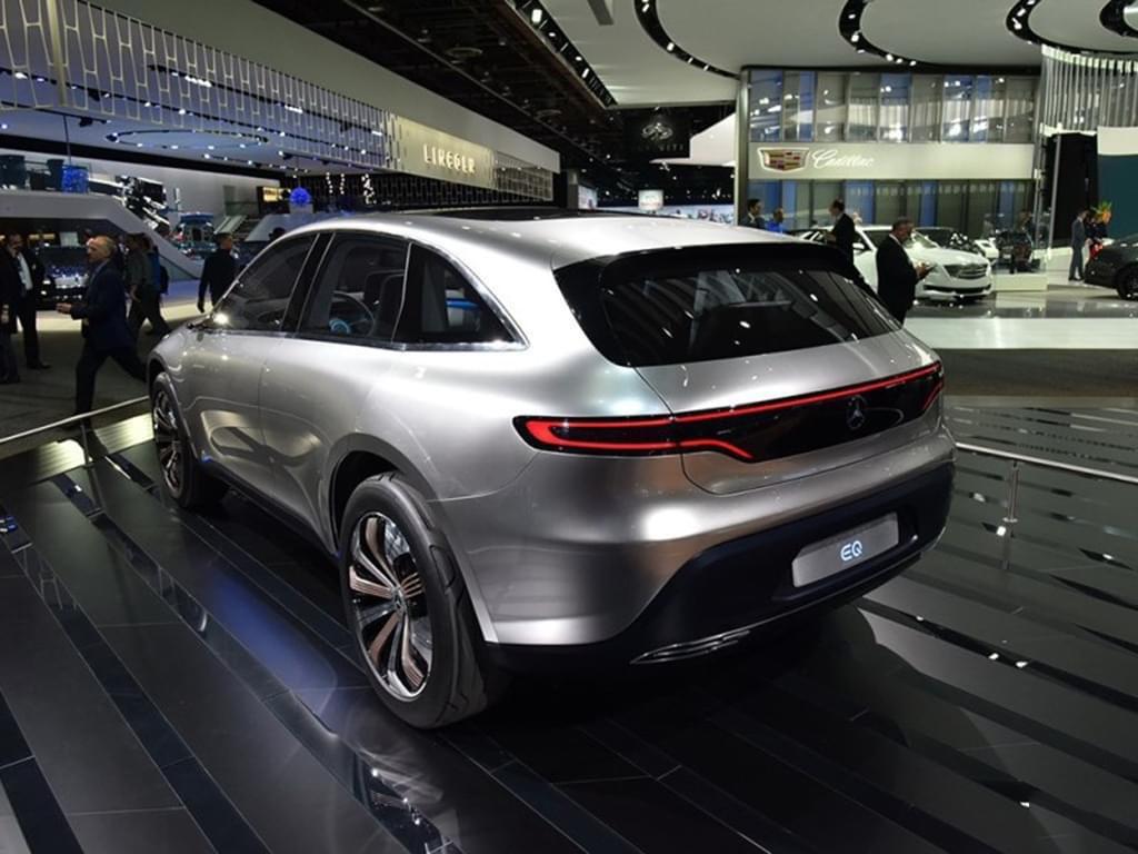 或2020年上市 奔驰将发布纯电动概念车