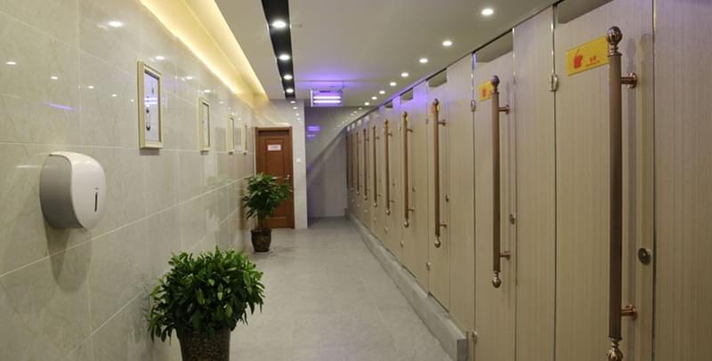 西安钟楼商圈最大最豪华的免费公厕明日启用