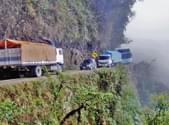 世界第一危险公路 仅60公里每年死300人