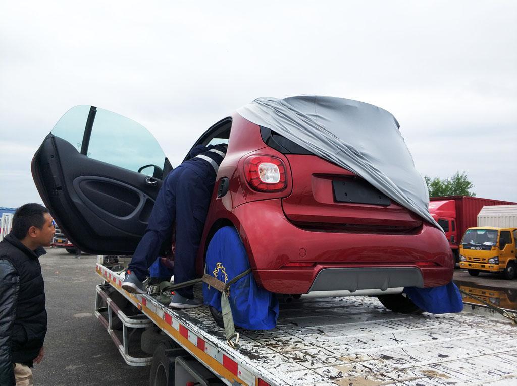 红色专属车漆 smart二十周年纪念版曝光