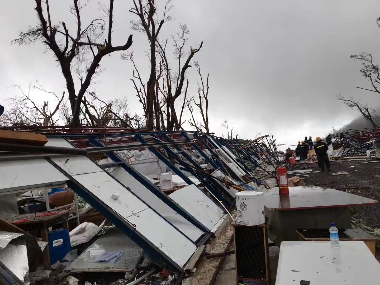 飓风重创多米尼克 第2批300余名华人将撤离