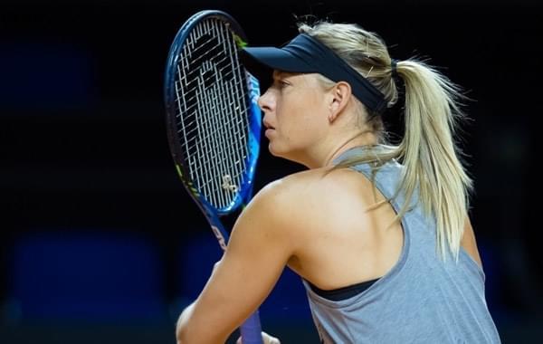 保时捷赛莎娃复出热身 WTA论颜值还得看她!
