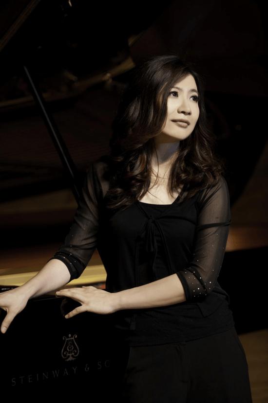 钢琴家朱楣京浙两地办音乐会 诠释徽音钢琴魅力