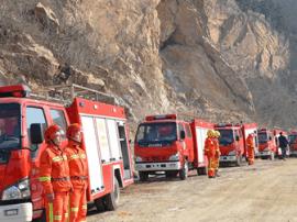 崂山新增6辆远程森林消防车 爬坡如履平地